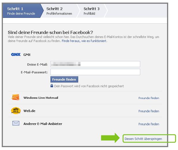Willkommen bei Facebook anmelden anmelden