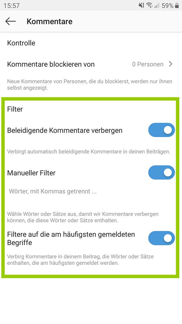 Instagram blockierung aufheben upammebee: Blockiertes Datum