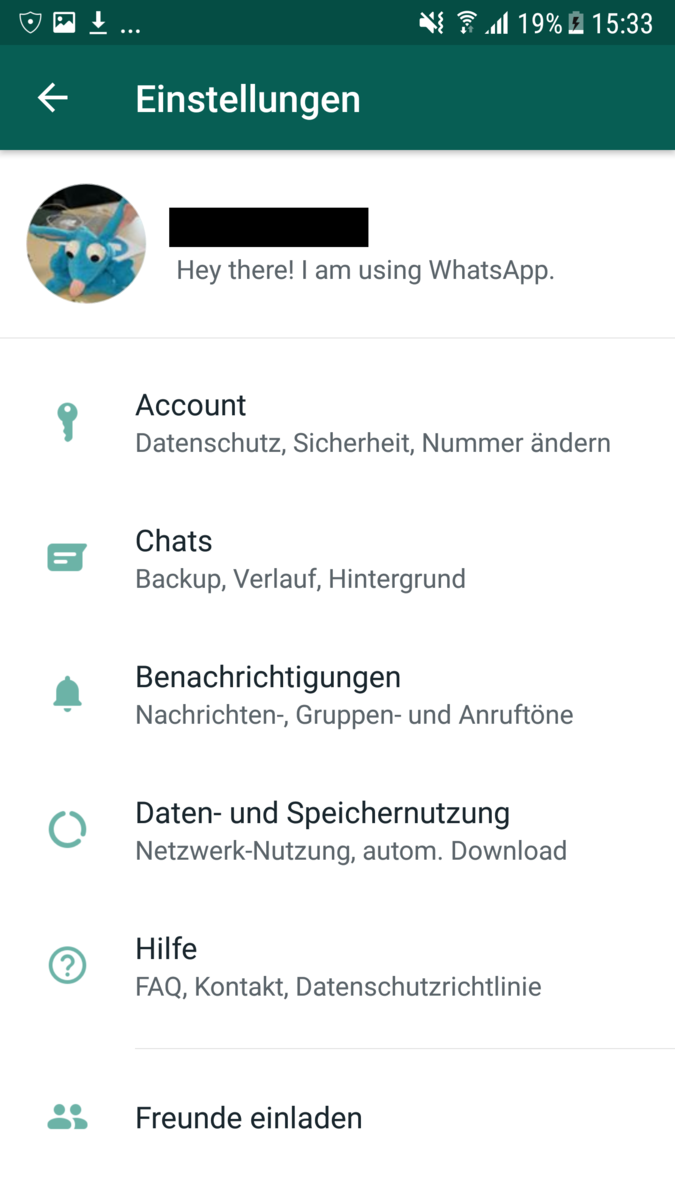 Ohne umgehen ändern blockierung whatsapp nummer Handynummer blockiert