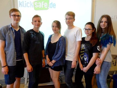 Youth Panel Team of Carl-Bosch-Secondary School in Ludwigshafen 2015