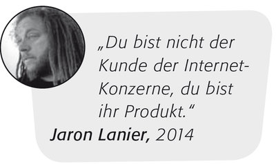 """Jaron Lanier 1"" von vanz – http://flickr.com/photos/vanz/144476323/in/set-72057594131744996/. Lizenziert unter Creative Commons Attribution 2.0 über Wikimedia Commons – http://commons.wikimedia.org/wiki/ File:Jaron_Lanier_1.jpg#mediaviewer/File:"